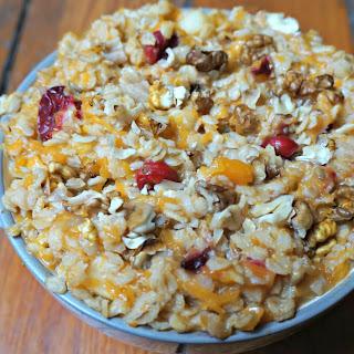Autumn Oatmeal Porridge (Vegan)