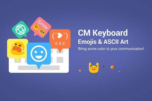 CM Keyboard - Emoji, ASCII Art screenshot 1
