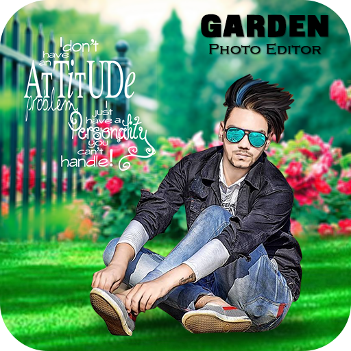 Garden Photo Frame Apps (apk) free download for Android/PC/Windows