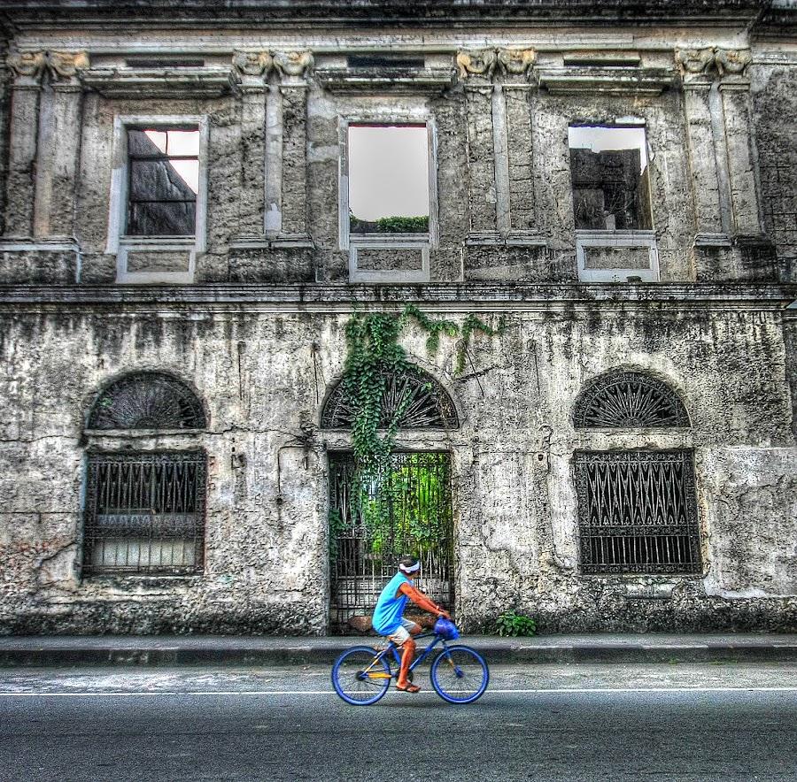 Manila by Mark Aiven Antang - City,  Street & Park  Vistas