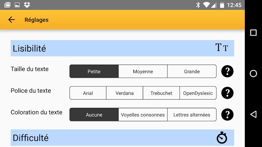 android Exogus CM1 Révision français Screenshot 4