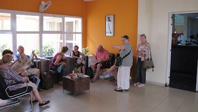 Photo: Sn3S0009-Dakar Pouponnière, hall, accueil, accès à la salle à manger IMG_1294