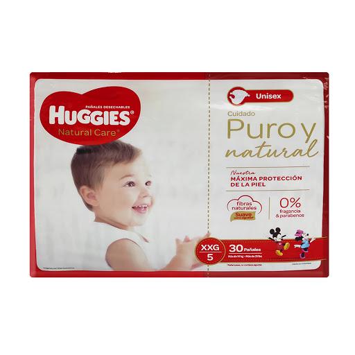 Pañal Huggies Natural Care - XXG