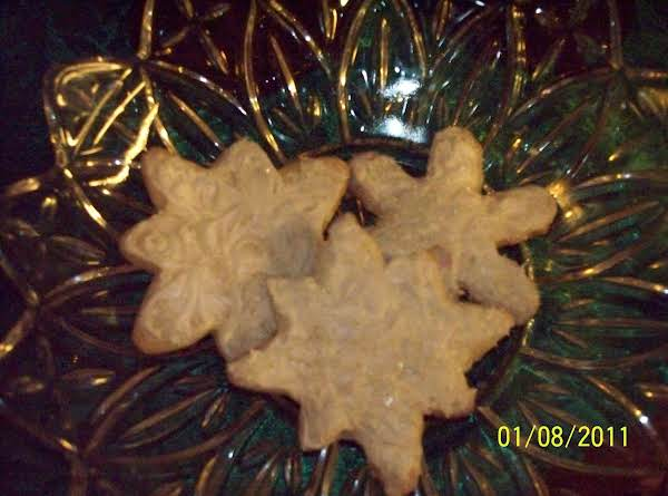 Snowflake Cookie Cut-outs.