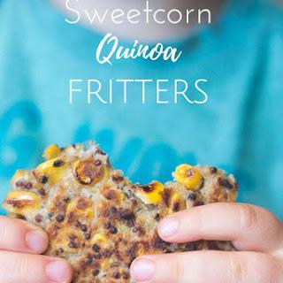 Sweetcorn Quinoa Fritters.