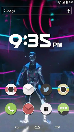Glitch dance Live Wallpaper