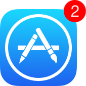 update counter on app store icon