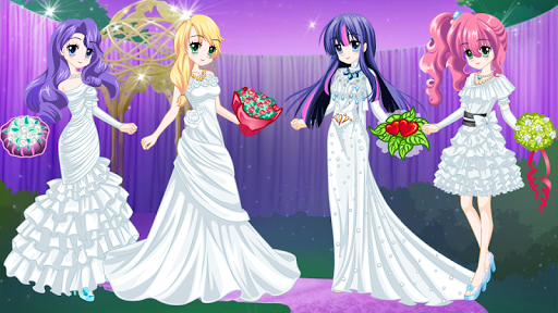 Twilight Wedding : Pony Dress Up Game modavailable screenshots 1