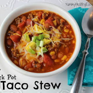 {Skinny} Crock Pot Taco Stew