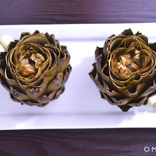 Roasted Artichokes.