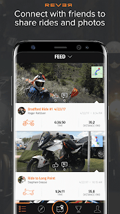 Rever Motorcycle - GPS Route Tracker & Navigation Screenshot