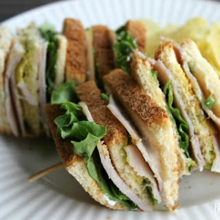 Green Chili & Avocado Turkey Club