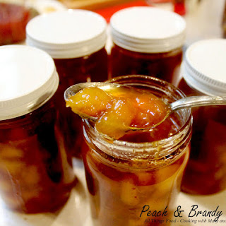 Peach & Brandy Sauce