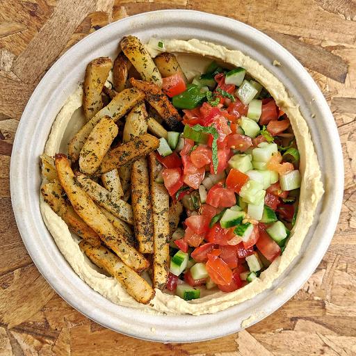 Hummus Chips Salad Bowl