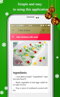 Recipes Cake Christmas - náhled