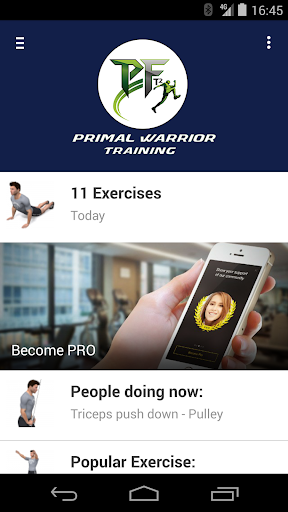 Primal Warrior Training