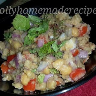 Healthy Chickpeas Salad Recipe | Salad Recipes