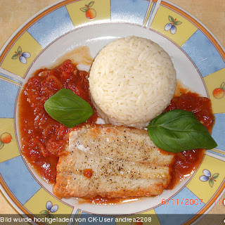 Tomaten - Balsamico Fisch aus dem Ofen