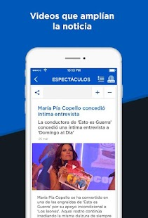 América Noticias- screenshot thumbnail