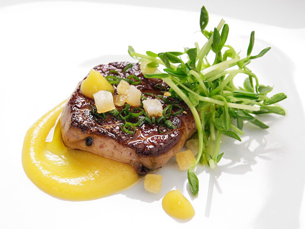 Pan-Seared Foie Gras with Spiced Citrus PuréE Recipe