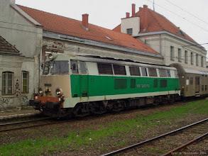 Photo: SU45-156, Malbork - Toruń Główny {Toruń Miasto; 2004-04-23}