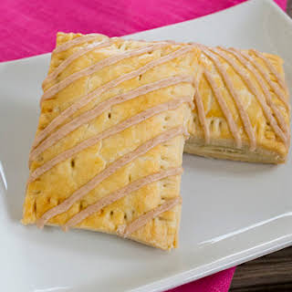 Homemade Brown Sugar Cinnamon Toaster Pastries.