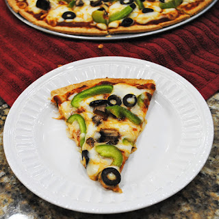 Veggie Flatbread Pizza.