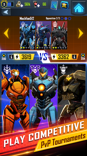Pacific Rim Breach Wars - Robot Puzzle Action RPG 1.5.0 screenshots 1