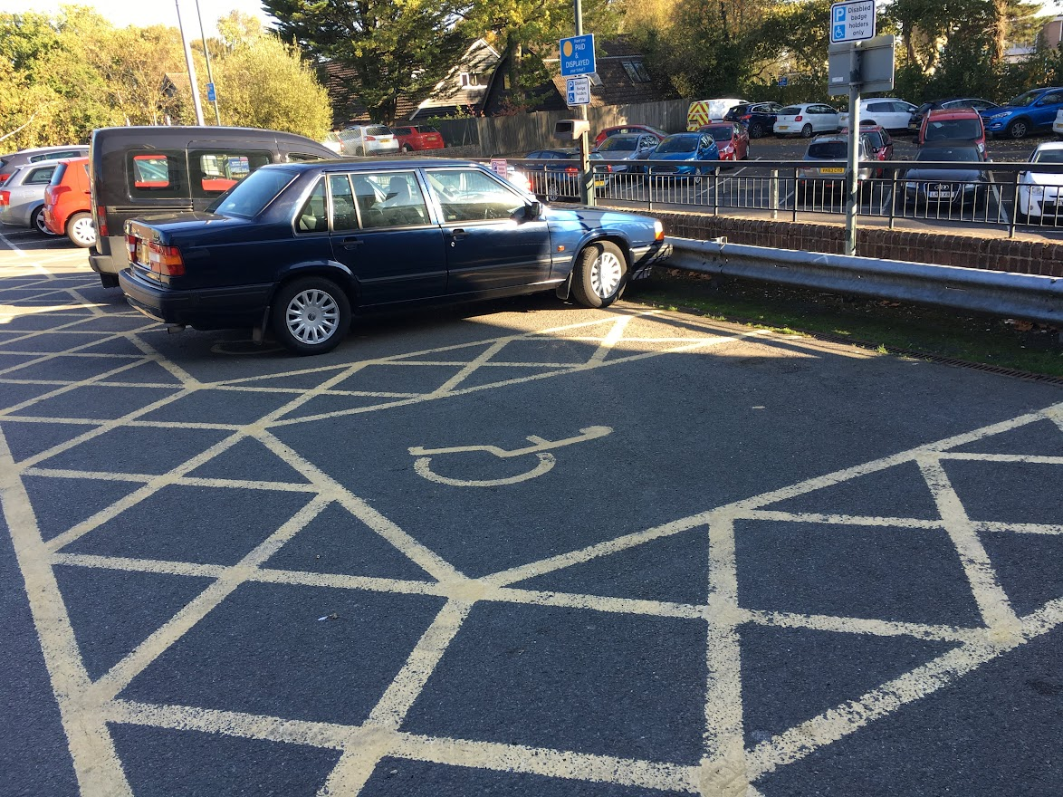 Tenterden Recreation Ground Car Park, Waitrose side of car park