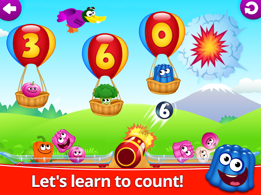 Funny Food 123! Kids Number Games for Toddlers apkpoly screenshots 8