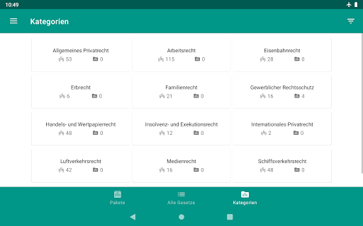 Lawdroid AT – Österreichische Gesetze und EU-Recht screenshot 21