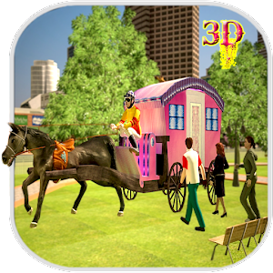 Horse Carriage Transport Drive for PC and MAC