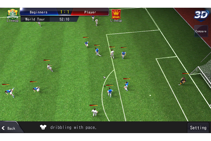 android LINE Football League Manager Screenshot 3