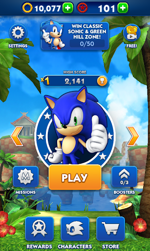 Sonic Dash  gameplay | by HackJr.Pw 5