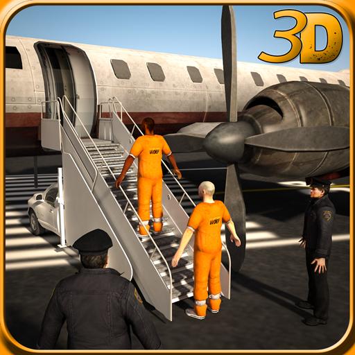 Jail Criminal Transport Plane
