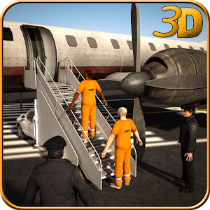 Jail Criminal Transport Plane for PC and MAC