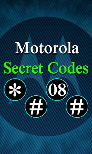 Secret Codes of Motorola 1.4 screenshots 1