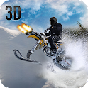 Snow Bike Rider Racing Fever icon