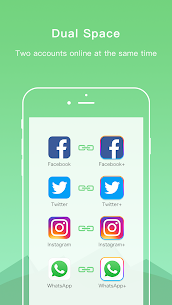Dual Space – Multiple Accounts & Parallel APP v2.1.1 [Pro] APK 2