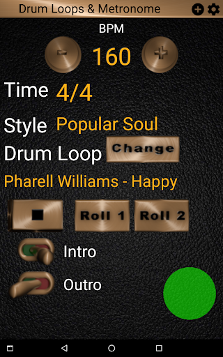 Drum Loops & Metronome Free Outro and Tap BPM screenshots 14