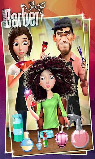 Barbearia cabeleireiro
