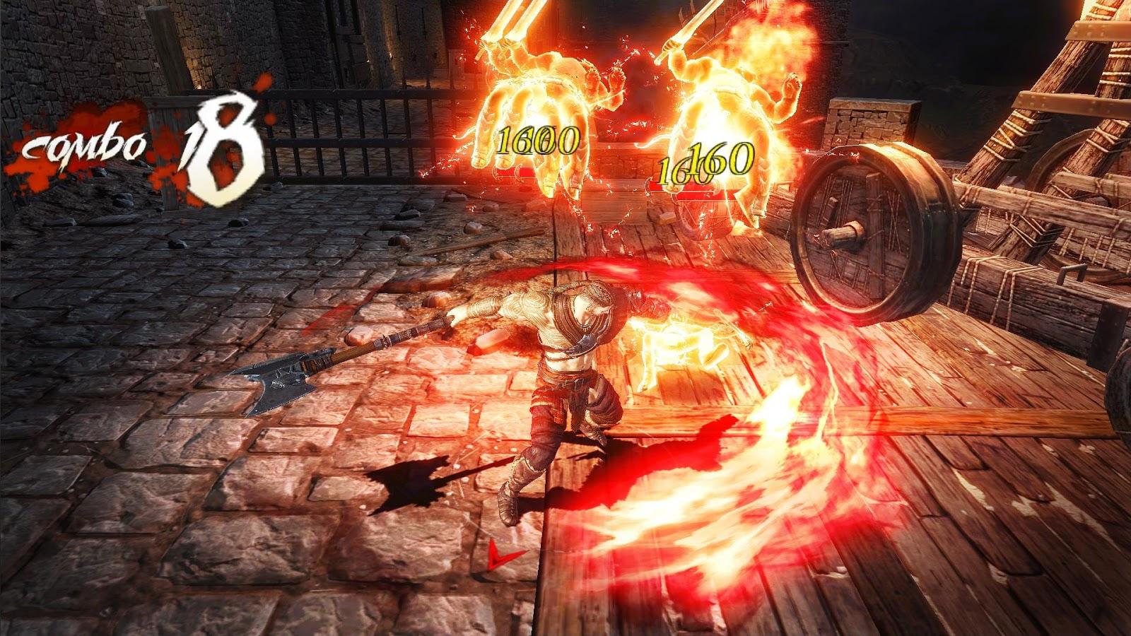 Dark Avenger 3 mobilny action RPG – zrzut ekranu