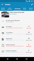 Screenshot of myCARFAX - Car Maintenance app