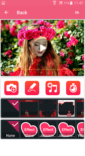 Photo video maker with music screenshot 12