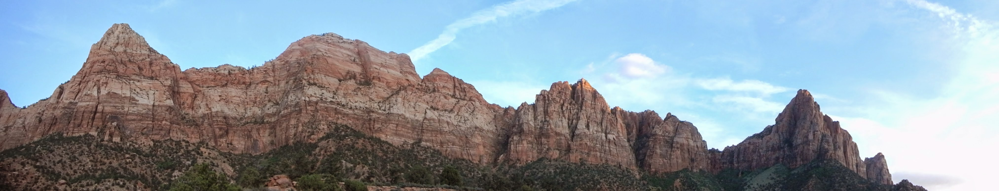 Photo: Final panoramic view from the Watchman Trail