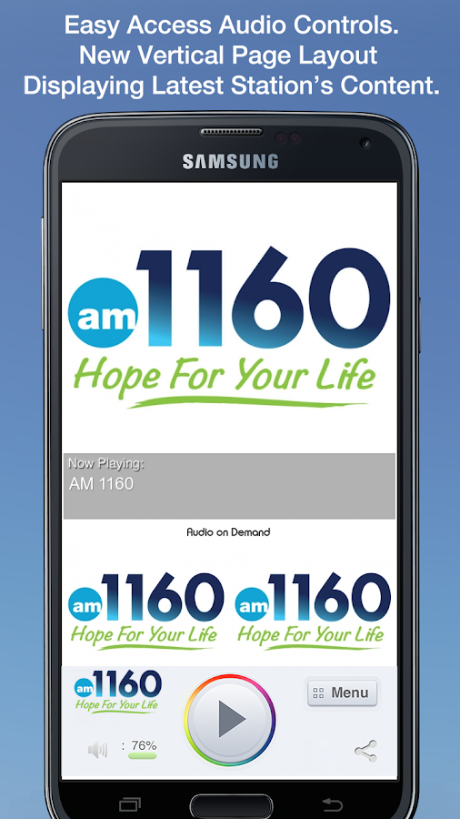 AM 1160- screenshot