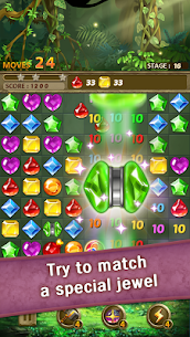 Jewels Jungle : Match 3 Puzzle 3