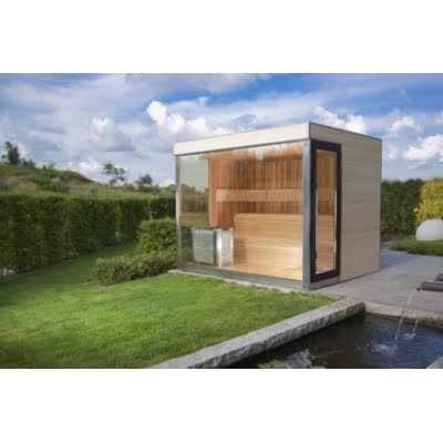 ZEN OUTSIDE SAUNA DE LUXE 252X222H245
