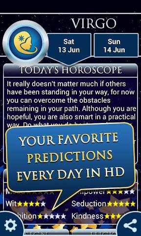 android Virgo Horoscope 2015 HD Screenshot 1