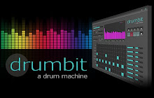 a drum machine that allows you to create and save rhythm patterns